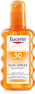 Eucerin Sun Spray Transparent LSF 50